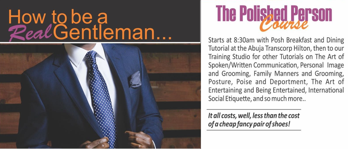 Permalink to: The Polished Person Course for Gentlemen