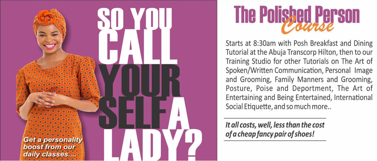 Permalink to: The Polished Person Course for Ladies